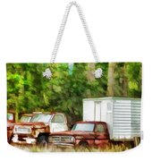 Rusty Old Abandoned Truck 1 Weekender Tote Bag