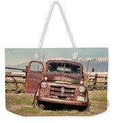 Rusty Old Dodge Weekender Tote Bag