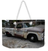 Rusty Old Dodge Weekender Tote Bag