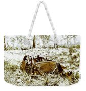 Rusty Old Holden Car Wreck  Weekender Tote Bag