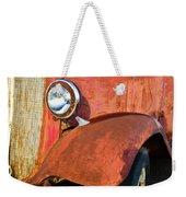 Rusty Red Chevrolet Pickup Truck 1934 Weekender Tote Bag