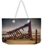 Rusty Shipwreck Weekender Tote Bag