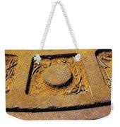 Rusty Texture Macro Weekender Tote Bag