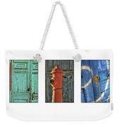 Rusty Triptych Weekender Tote Bag