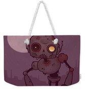 Rusty Zombie Robot Weekender Tote Bag