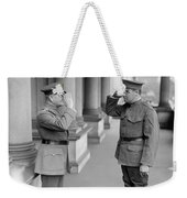 Ruth & Pershing, 1924 Weekender Tote Bag