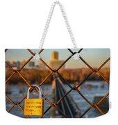 Rva Lock Bridge Weekender Tote Bag