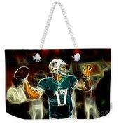 Ryan Tannehill - Miami Dolphin Quarterback Weekender Tote Bag