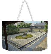 Ryogen-in Zen Rock Garden - Kyoto Japan Weekender Tote Bag