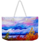 Rythmn Of The Arctic Weekender Tote Bag