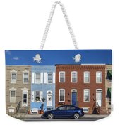 S Baltimore Row Homes - Wide Weekender Tote Bag