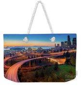 S For Seattle Weekender Tote Bag