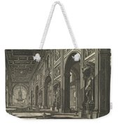 S. Giovanni In Laterano. Interior Weekender Tote Bag