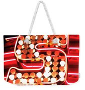 S In Lights Weekender Tote Bag