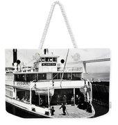 S. P. Ferry Alameda At San Francisco Circa 1940 Weekender Tote Bag