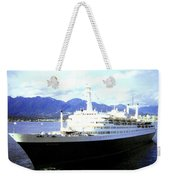 S S Rotterdam Weekender Tote Bag by Will Borden