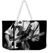S#33 Enhanced Bw Weekender Tote Bag