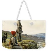 Saami Couple With Dog Weekender Tote Bag