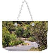 Sabino Canyon Road Weekender Tote Bag