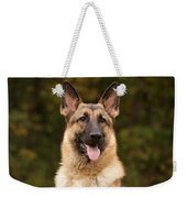 Sable German Shepherd Weekender Tote Bag