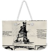 Sacco And Vanzetti Front Page Weekender Tote Bag