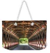 Sachs Bridge - Gettysburg - Vert.-hdr Weekender Tote Bag