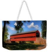Sach's Covered Bridge Weekender Tote Bag by Lois Bryan