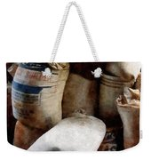 Sacks Of Feed Weekender Tote Bag