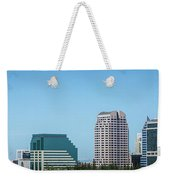 Sacramento California Cityscape Skyline On Sunny Day Weekender Tote Bag
