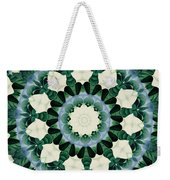 Sacramento Green And Cerulean Blue Mandala Weekender Tote Bag