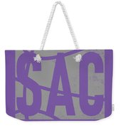 Sacramento Kings City Poster Art Weekender Tote Bag