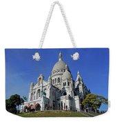 Sacre Coeur In The Montmartre Area Of Paris, France  Weekender Tote Bag