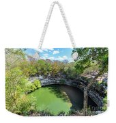 Sacred Cenote In Chichen Itza Weekender Tote Bag