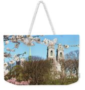 Sacred Heart And Branch Brook Cherry Blossoms  Weekender Tote Bag