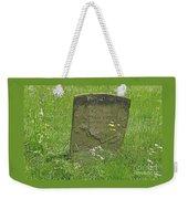 Sacred Memory Weekender Tote Bag