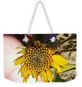 Sacred Sunflower Weekender Tote Bag