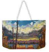 Sacred View Weekender Tote Bag