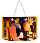 Sad Cafe Weekender Tote Bag
