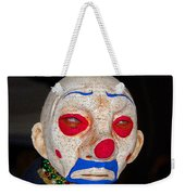 Sad Clown Weekender Tote Bag