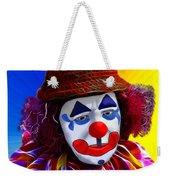 Sad Clown Weekender Tote Bag
