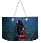 Sad Mermaid Weekender Tote Bag