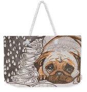 Sad Pup Weekender Tote Bag