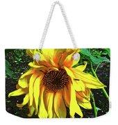 Sad Sunflower Weekender Tote Bag