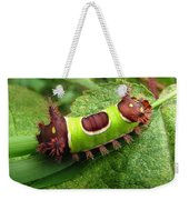 Saddleback Caterpillar Weekender Tote Bag