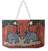 Safari Weekender Tote Bag