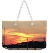 Safe Harbor Sunset Weekender Tote Bag