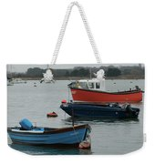 Safe Harbour On A Murky Day Weekender Tote Bag
