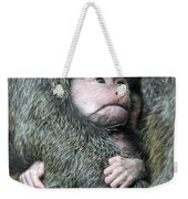 Safe In Mother's Arms Weekender Tote Bag