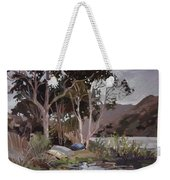 Safe Shelter  - Plein Air - Catalina Island Weekender Tote Bag