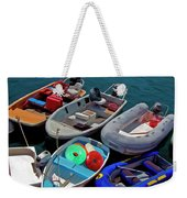 Safety First Weekender Tote Bag